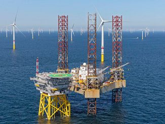Attollo's jackup accommodation unit at Borkum Riffgrund 2 (photo: Attollo Offshore)
