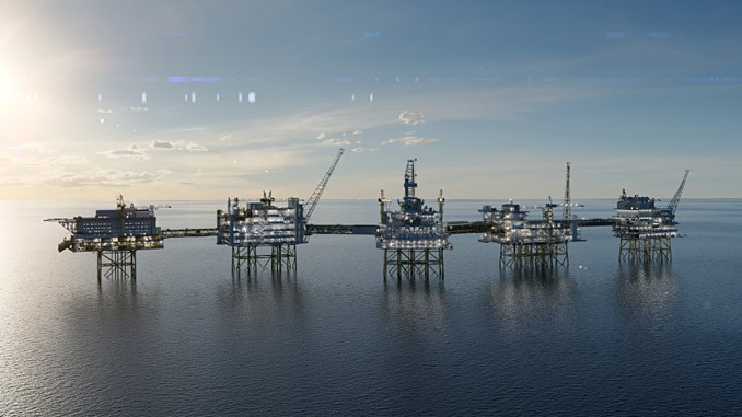 Johan Sverdrup phase 2 (illustration: Equinor/Try)