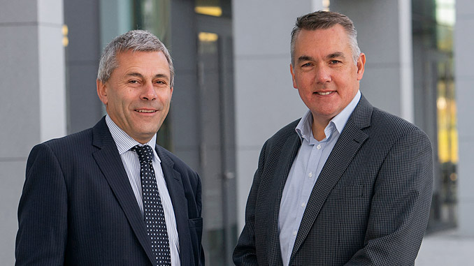 John Warrender, Chief Executive, Decom North Sea and Bill Cattanach, Head of Supply Chain at the OGA