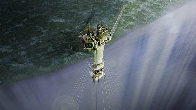 The Aasta Hansteen SPAR platform is the first of its kind in Norway (illustration: Equinor)