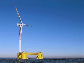 The 100-150 megawatt (MW) floating offshore wind farm is planned to be located more than 30 kilometres off the coast of Eureka and expected online in 2024