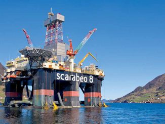 Sixth-generation semi-submersible rig 'Scarabeo 8'