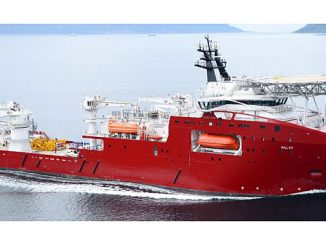 VARD 3 03 – Diving Support and Construction vessel of 12-m length, 121-m breadth: 23 m – designed by Vard Design