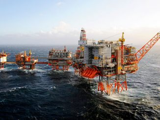 Valhall field in the Norwegian North Sea