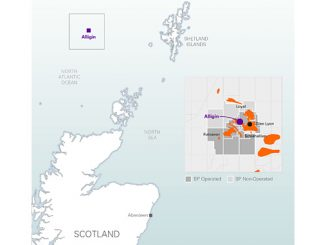 Alligin is located 140 kilometres west of Shetland in a water depth of 475 metres and forms part of the Greater Schiehallion Area