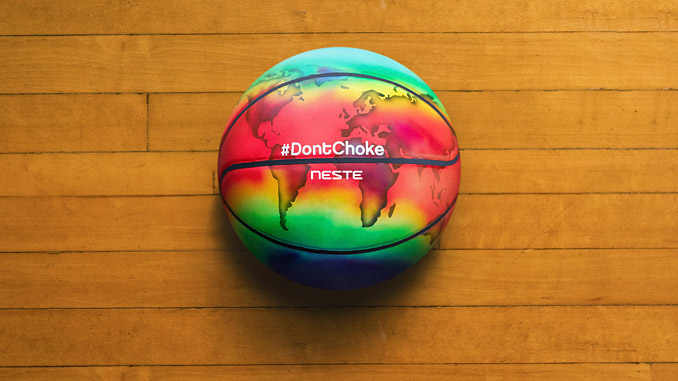 The #DontChoke campaign is a call to action for individuals to do their share in battling climate change
