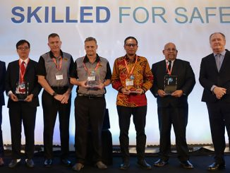 OPITO Global Awards 2018 winners with OPITO CEO John McDonald at the far right