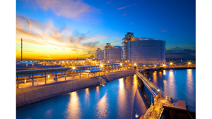 The Cameron LNG liquefaction-export project in Louisiana, USA