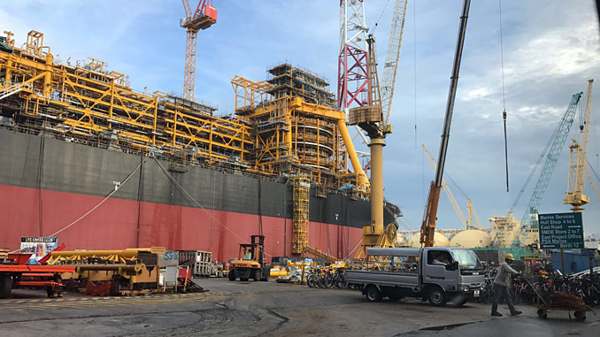 PJV has a long history of manufacture and supply for FPSO projects, with valves installed on over 30 FPSO topsides