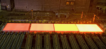 Dillinger can also supply thermomechanically rolled plates of up to 150 mm in thickness for special applications