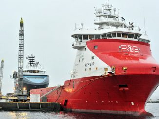 Equinor has 13 supply vessels in its contract portfolio that are ready for shore power supply, including 'Rem Eir' from Remøy Shipping, whose contract with Equinor was recently extended by 3 years (photo: Equinor ASA/Vidar Hardeland)