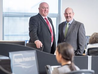 From left, Phil Tweedy, managing director, and Paul Rushton, chaiman
