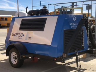 The GoFlo® CNG80 compressor offers improved backup capability and increased capacity for refuelling smog-reducing CNG fleets