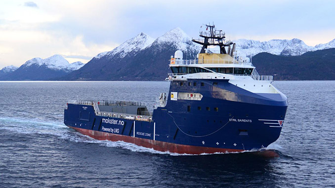 The battery hybrid 'Stril Barents'