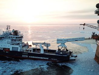The N-type operating in the ice-cold waters of Sakhalin
