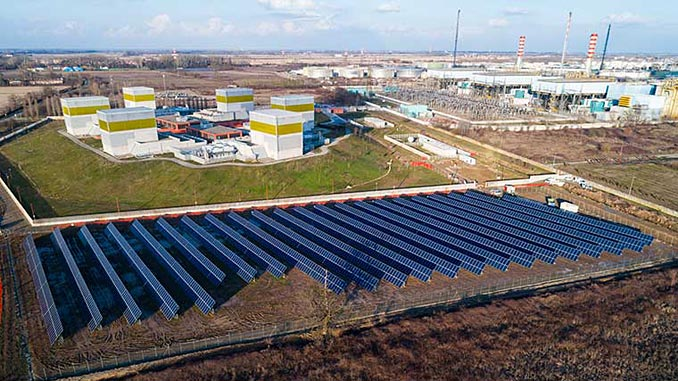 Solar at Ferrera Erbognone – as part of Eni's Progetto Italia initiatives, the company is installing solar panels to generate renewable energy that will be predominantly used at their own industrial sites