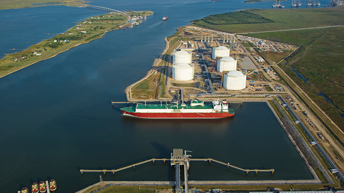 The Golden Pass terminal (photo: Golden Pass LNG)