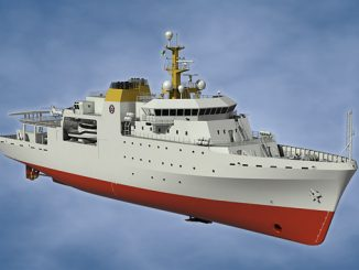 The 95-metre Hydrographic Survey Vessel is said to be the most complex vessel ever built in South Africa