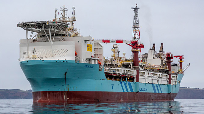'Aoka Mizu FPSO' (photo: Hurricane Energy/Ralph Ehoff)