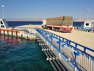 MacGregor floating pontoon linkspans are designed to accommodate various ship configurations and ramp geometries in combination with local tidal variations