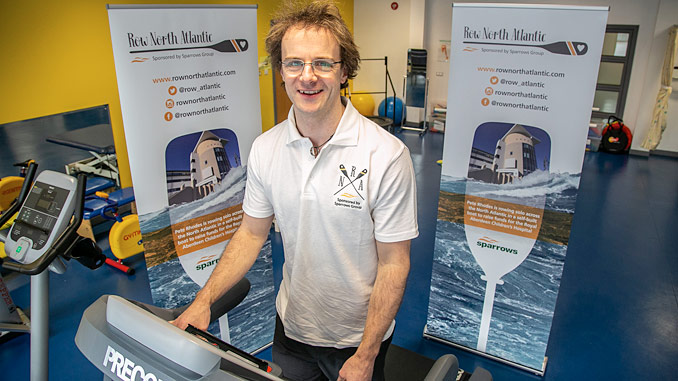 Peter Rhodes, one of Sparrows Group managers in Aberdeen, aims to raise GBP 50,000 for charity
