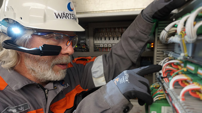 Wärtsilä's remote guidance service provides ship operators with real-time troubleshooting and technical advice assistance