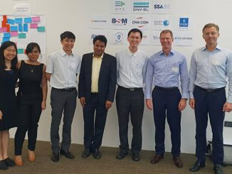 JIP coordination team from MPA, SSA and DNV GL during JIP kick-off meeting workshop