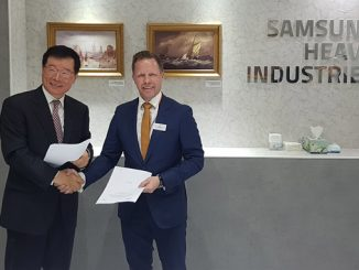 The Joint Development Project was signed by Jin-Taek Jung; Executive Vice President, Engineering & Procurement Operations, SHI, and Timo Koponen, Vice President, Processing Solutions, Wärtsilä Marine