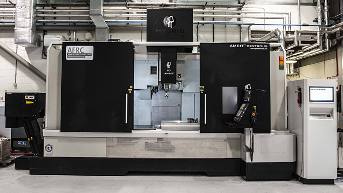 The LMD Hybrid platform demonstrates that those with existing CNC technologies can retrofit their machinery to accommodate additive manufacturing