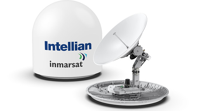 The Intellian GX100NX offers high-speed data and global operation, and exceptionally efficient RF design for unrivalled link performance on the Fleet Xpress service
