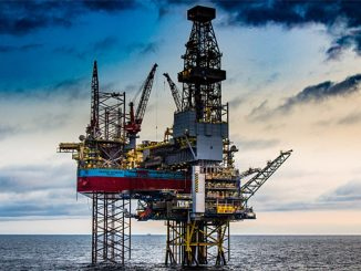 Low-emission drilling – ultra-harsh environment XLE jack-up rig 'Maersk Intrepid'