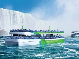 Niagara Falls tour operator Maid of the Mist orders two new passenger vessels sailing on pure electric power, enabled by ABB's technology