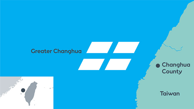 Greater Changhua offshore wind sites in Taiwan have a total potential capacity of 2.4 GW