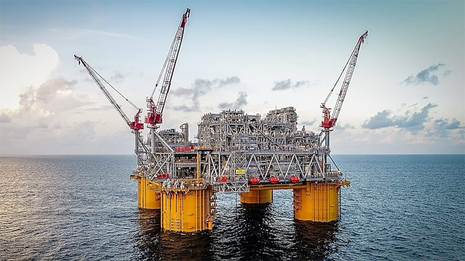 Shell's Appomattox in the US GoM is expected to produce 175,000 barrels of oil and gas equivalent per day