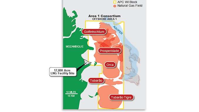 Mozambique Offshore Area 1