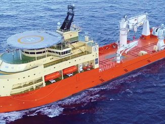 'Island Venture', an offshore construction and light well intervention vessel