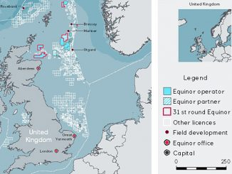 The OGA has awarded Equinor five licenses in the the 31st Offshore Licensing round