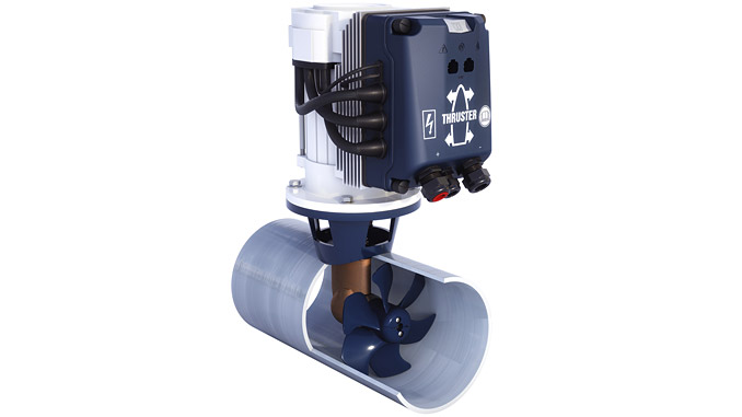 The advanced VETUS BOW PRO Boosted Thruster is among the new VETUS equipment on display at this year's Seawork International