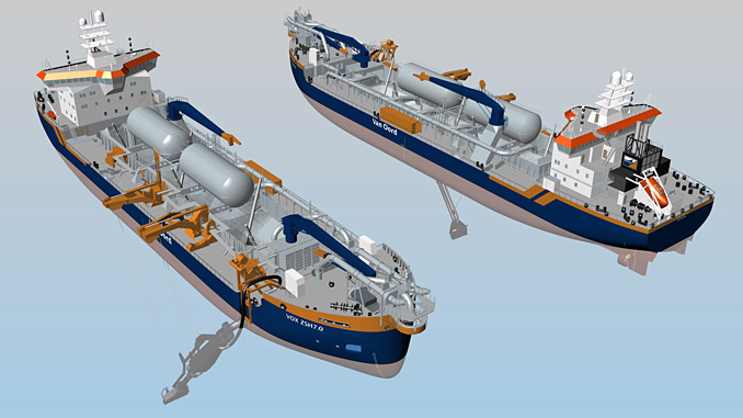 ABB to deliver benefits of integrated vessel systems to two dredgers built by Keppel Offshore & Marine for Van Oord, securing a first full-scope power, automation and navigation contract for specialised dredger market