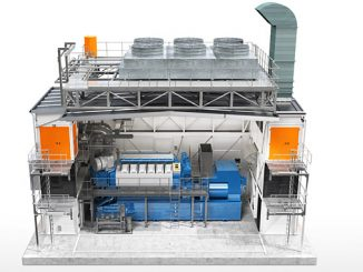 Wärtsilä Modular Block features pre-fabricated, expandable enclosures for sustainable power generation