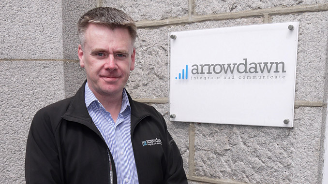 Gordon Adie managing director at Arrowdawn, which has operations in Aberdeen, Edinburgh and Inverness