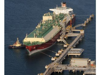 Gas from the North Field is transported around the world by giant LNG carriers