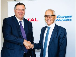 Patrick Pouyanné, Chairman and CEO of Total, and Didier Houssin, Chairman and CEO of IFPEN