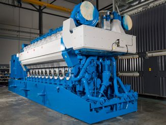 Two Wärtsilä 20V34SG engines running on natural gas were added to increase the plant capacity by 19 MW