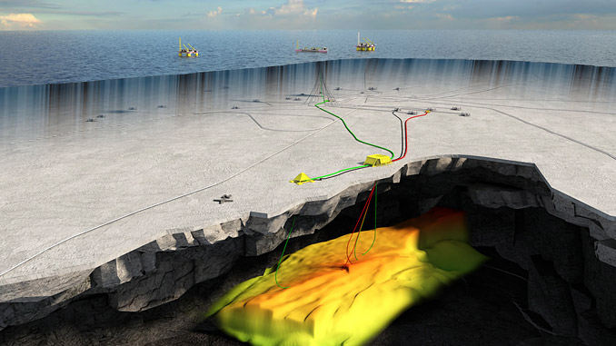 Trestakk field development covers a subsea template with four well slots and one satellite well