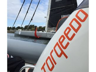 Torqeedo provided electric support vessels to help Team Malizia leave the dock and travel safely out of the harbour to avoid using the small onboard engine