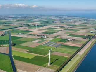 Vattenfall and Microsoft signed a 10-year power purchase agreement in 2017 where the Wieringermeer wind farm will power Microsoft's nearby data centre