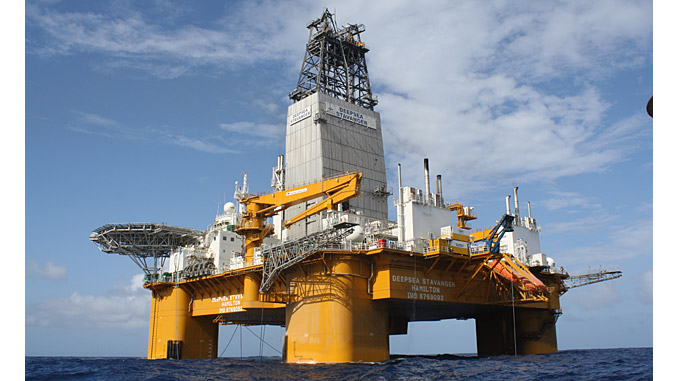 Odfjell's 'Deepsea Stavanger' harsh environment semi-submersible