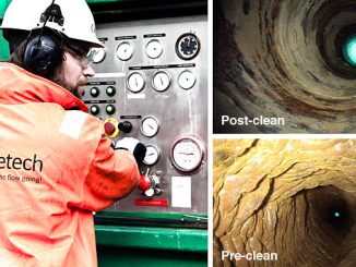 The Pipetech team mobilises rapidly to tackle flow and blockage problems to maximise efficiency and prevent downtime of oil and gas assets, industrial power plants and refineries (photos: Pipetech)