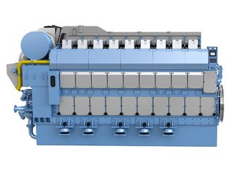 Rolls-Royce has launched its latest in a series of LNG-fuelled marine engines